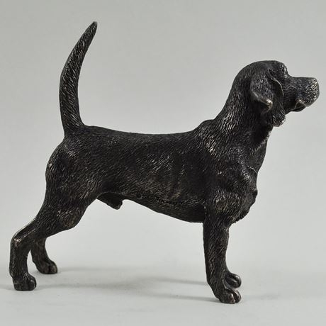 Beagle – Cold Cast Bronze-7534