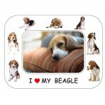 Beagle Magnetic Photo Frame & Magnet-0