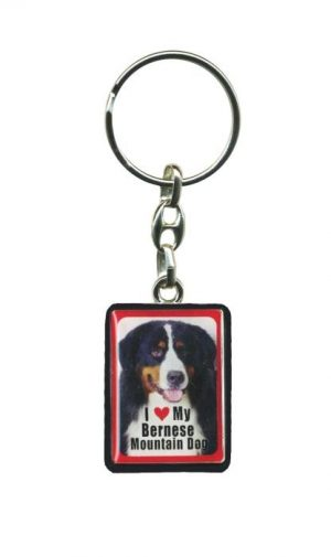 Bernese Mountain Dog - Key Ring-0