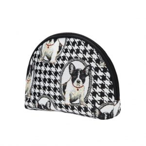 French Bulldog Big Cosmetic Bag-0