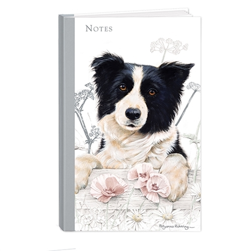 Border Collie Hardcover Note Book-0