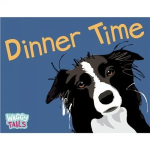 Border Collie Giant Pet Placemat-0