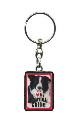 Border Collie - Key Ring-0