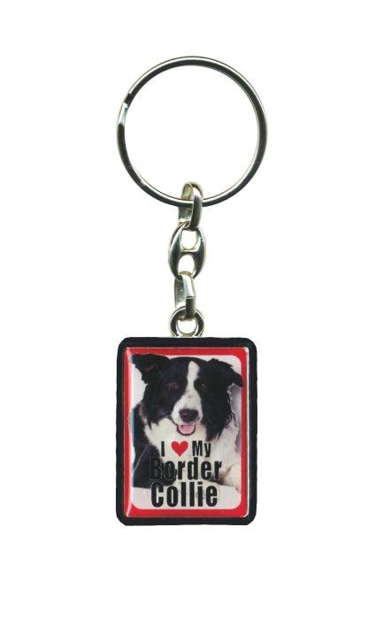 Border Collie – Key Ring-0