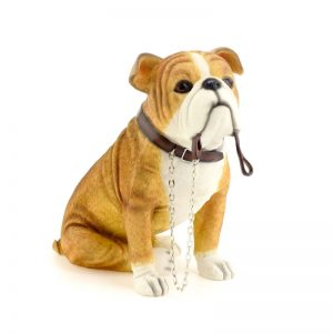 Bulldog Sitting figurine -0