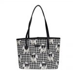 French Bulldog Shoulder Tote Bag-0