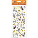 Dalmatian - Craft Stickers-0