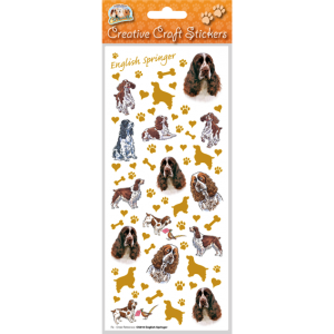 English Springer Spaniel - Craft Stickers-0