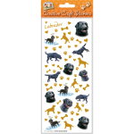 Labrador (black) - Craft Stickers-0