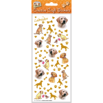 Labrador (yellow) - Craft Stickers-0