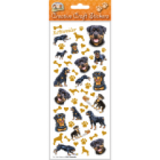 Rottweiler - Craft Stickers-0