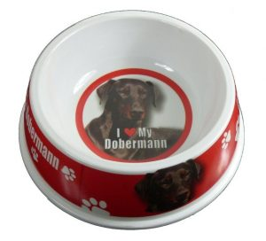 Doberman Feeding Bowl-0
