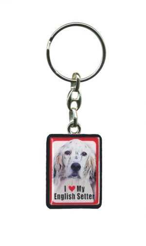 English Setter - Key Ring-0