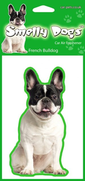 French Bulldog (Pied) - Air Freshener-0