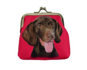 German Shorthaired Pointer Coin Purse-0
