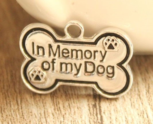 Lagotto Romagnolo – In Memory Charm Keychain-7212