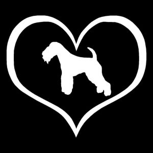 Lakeland Terrier (silver) Car Sticker-0
