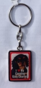 Cavalier King Charles Spaniel - Key Ring-0