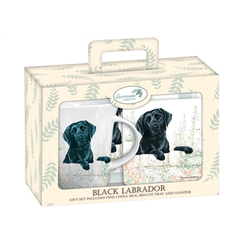 Labrador Retriever (black) – Teatime Set-0