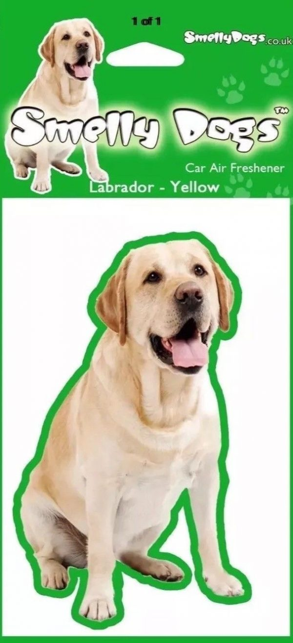 Labrador (yellow) – Air Freshener-6767