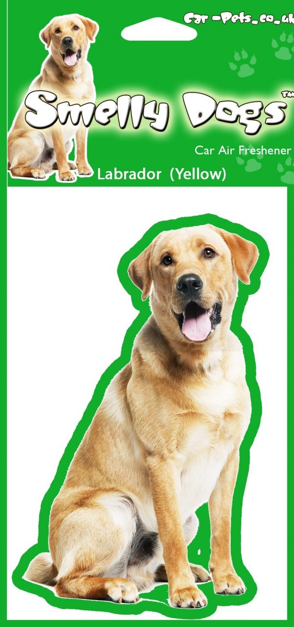 Labrador (yellow) – Air Freshener-0