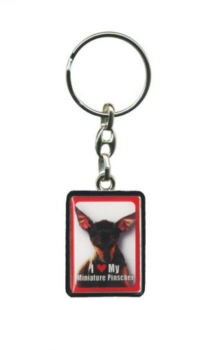 Miniature Pinscher - Key Ring-0