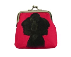 Poodle (black) Coin Purse-0