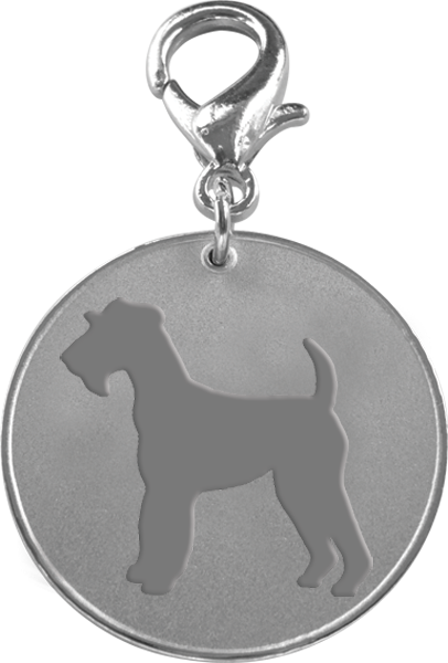 Airedale Terrier ID Pet Tag-0