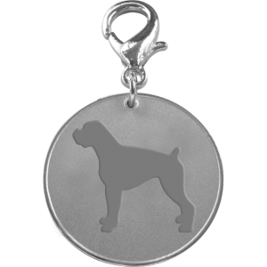 Boxer ID Pet Tag-0