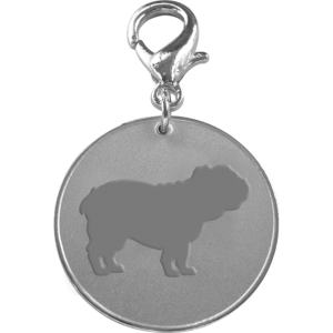 Bulldog ID Pet Tag-0