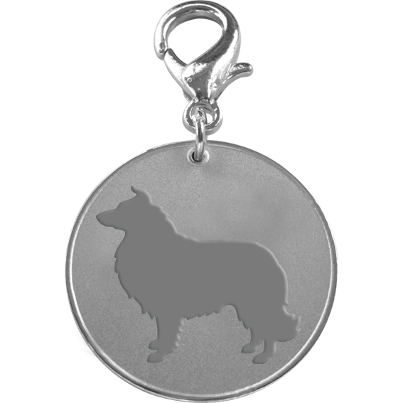 Rough Collie ID Pet Tag-0