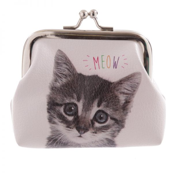 Cat Meow Coin Purse-0