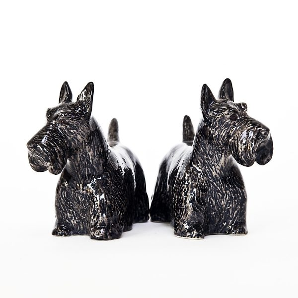 Scottish Terrier Pepper and Salt Set-7400