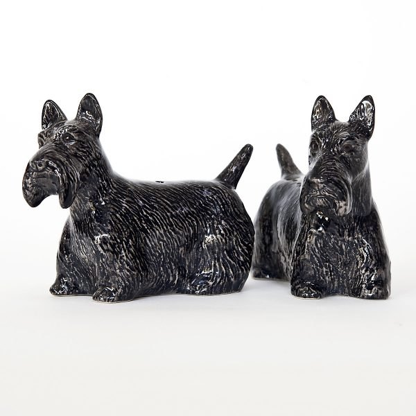 Scottish Terrier Pepper and Salt Set-7401