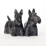 Scottish Terrier Pepper and Salt Set-0