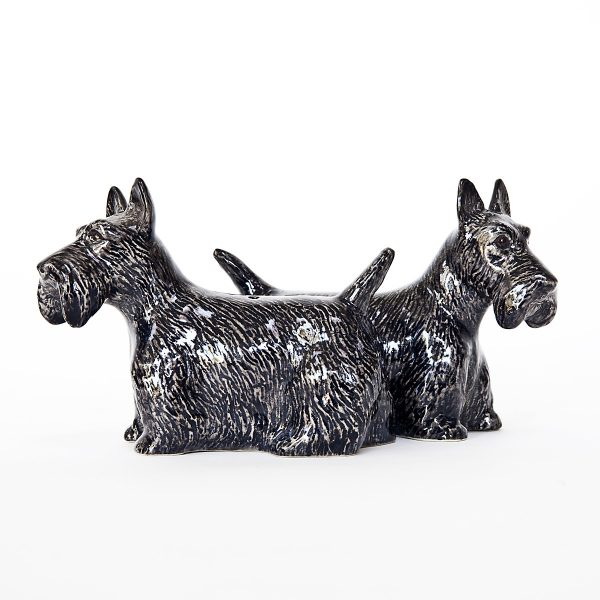 Scottish Terrier Pepper and Salt Set-7403