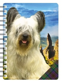 Skye Terrier 3D Note Books-0