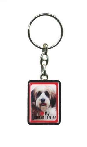 Tibetan Terrier - Key Ring-0