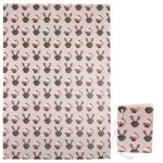 Pug – Single Christmas Gift Wrap & Tag-7510