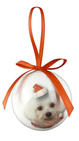 Maltese Christmas Bauble-0