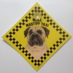 Bull Mastiff (taxi) Suction Sign-0