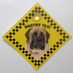 Mastiff (taxi) Suction Sign-0