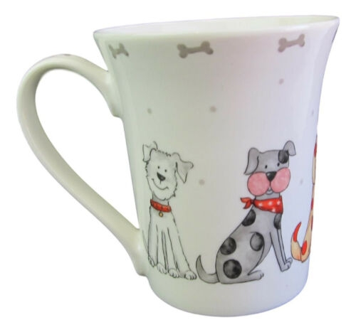 Dogs cute as  – Fine China Mug-7927