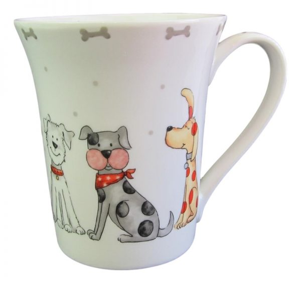 Dogs cute as  – Fine China Mug-0