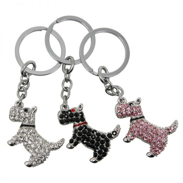 Scottish Terrier Keychain-0