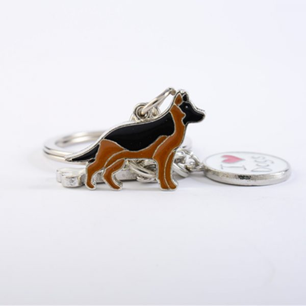 German Shepherd Key Chain up