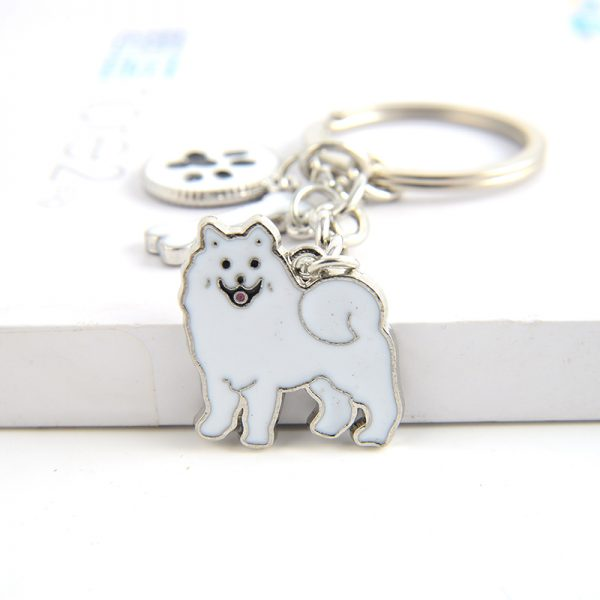 Samoyed Key Chain up