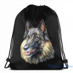 Belgian Tervuren Drawstring Backpack