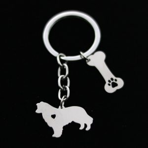 Pyrenean Mountain Dog Key Chain