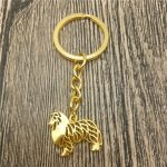 Rough Collie Key Chain